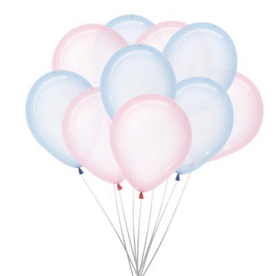 Ballons (10.St.) – Klar, Rosa und Blau
