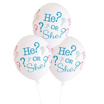 Er oder sie? Luftballons (10 Stk.)