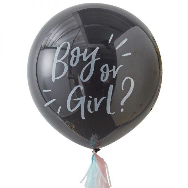 Gender Reveal - Ballon-Paket, Junge oder Mädchen?