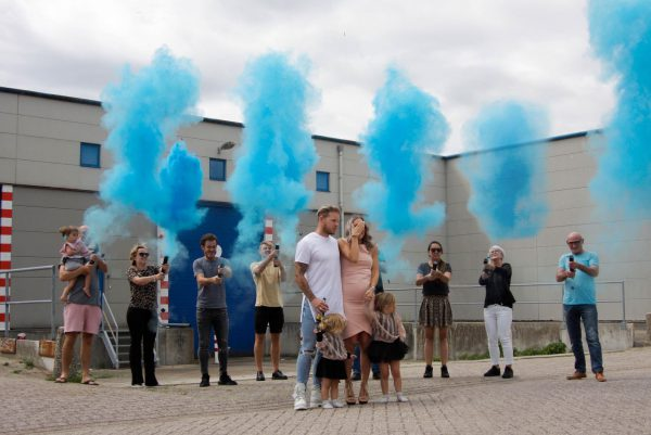 Gender Reveal - D.I.Y. Pulverkanone