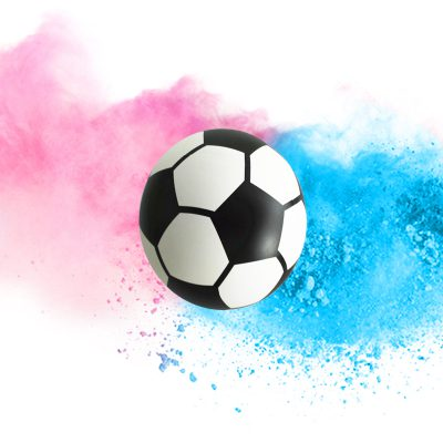 Gender Reveal - Fußball (DIY)