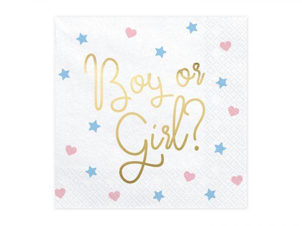 Servietten Boy or Girl? (20 Stk.)