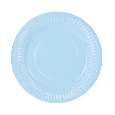 Teller blau (6 St.)