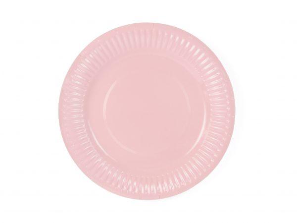 Teller rosa (6 St.)