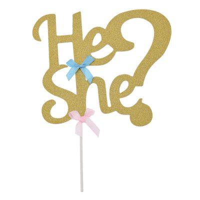 Tortendeckel – He oder She?