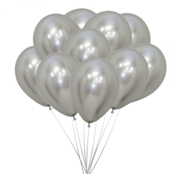 Ballons (10 St.) - Gold, metallic